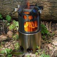 TBS Salamander Wood Burning Stove & Zebra Billy Can Set